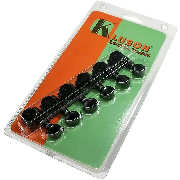 kluson guitar tuners 2 pin no mod locking tuners for fender reverb. Black Bedroom Furniture Sets. Home Design Ideas