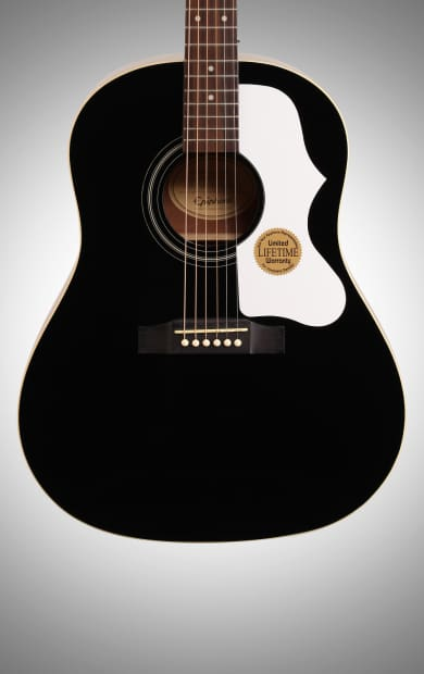 epiphone limited edition j45 acoustic guitar ebony 1963 reverb. Black Bedroom Furniture Sets. Home Design Ideas
