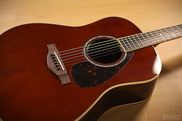 yamaha ll6 are acoustic guitar dark tinted w case b stock reverb. Black Bedroom Furniture Sets. Home Design Ideas
