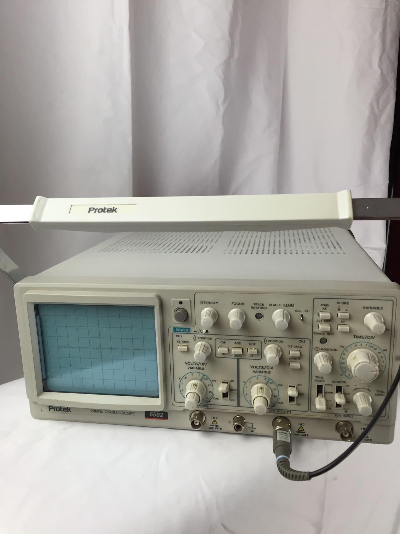 Pro Tek Oscilloscope : Protec oscilloscope s grey reverb