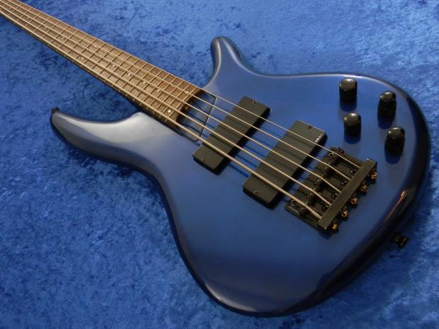 ibanez japan sdgr soundgear circa 1999 blue 5 string bass guitar reverb. Black Bedroom Furniture Sets. Home Design Ideas