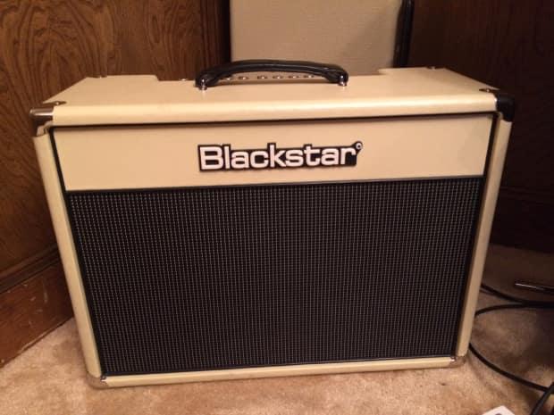 blackstar ht5 th anniversary 2x10 5 watt combo 2014 white reverb. Black Bedroom Furniture Sets. Home Design Ideas