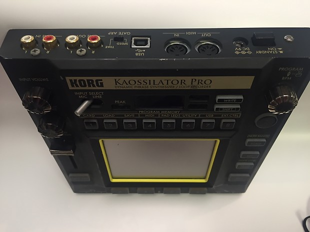 korg kaossilator pro touchpad synth reverb. Black Bedroom Furniture Sets. Home Design Ideas