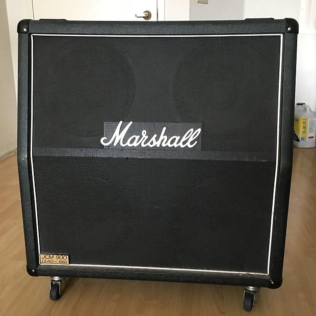 marshall 1960a 4x12 slant cabinet jcm 900 reverb. Black Bedroom Furniture Sets. Home Design Ideas
