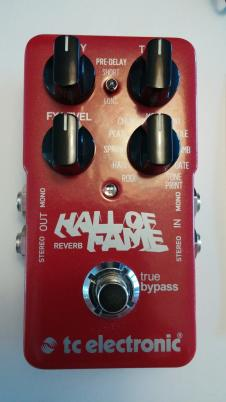 TC Electronic Hall of Fame Reverb 2015 image