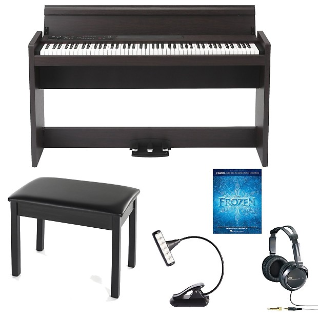 korg lp 380 digital piano rosewood with piano bench reverb. Black Bedroom Furniture Sets. Home Design Ideas