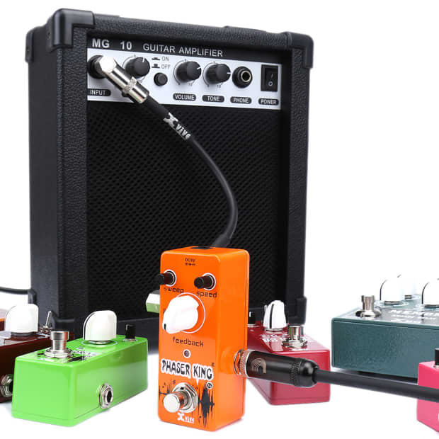 Phaser Guitar Pedal : xvive phaser guitar pedal classic analog phaser king effect reverb ~ Vivirlamusica.com Haus und Dekorationen