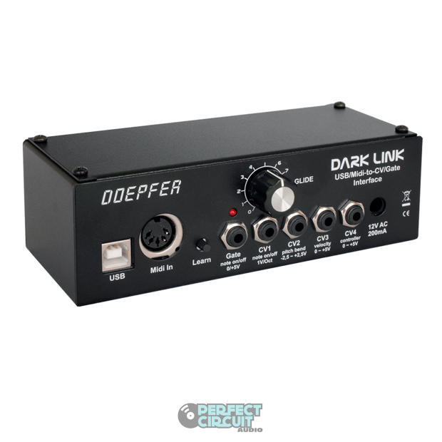 doepfer dark link midi usb to cv gate module eurorack - demo