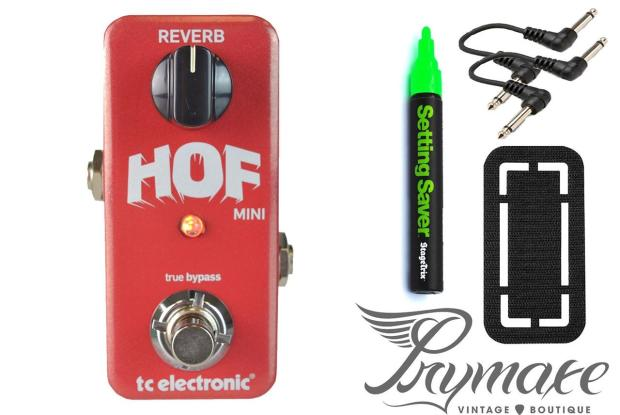 New Tc Electronic Hall Of Fame Mini Pedal Bundle Auth