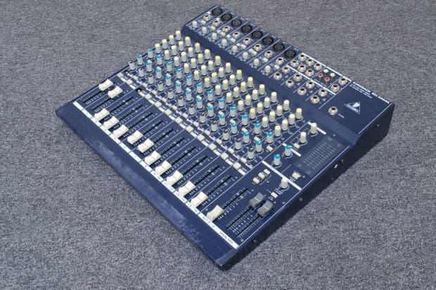 behringer eurorack mx2004a 8 channel line mic mixer reverb. Black Bedroom Furniture Sets. Home Design Ideas