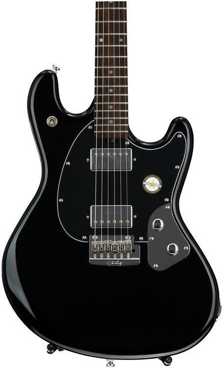 sterling stingray guitar black reverb. Black Bedroom Furniture Sets. Home Design Ideas