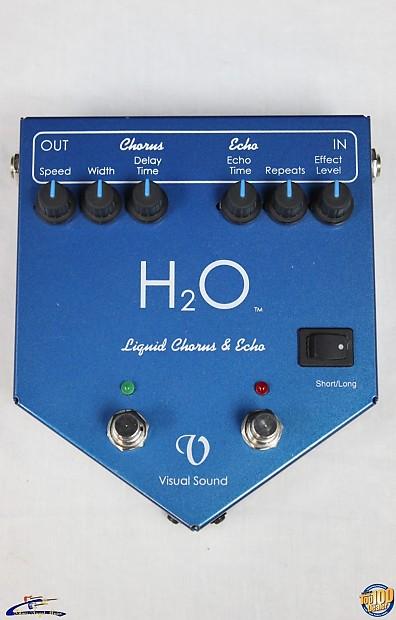 visual sound h2o liquid chorus and echo pedal made in usa reverb. Black Bedroom Furniture Sets. Home Design Ideas