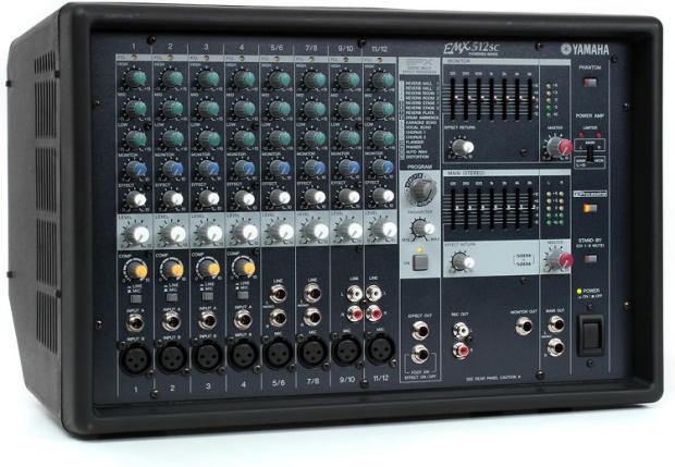 yamaha emx512sc powered mixer manual