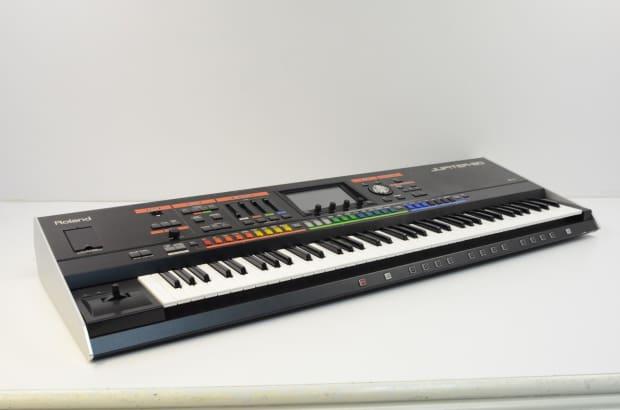 roland jupiter 80 76 key synthesizer w gig bag version 2 reverb. Black Bedroom Furniture Sets. Home Design Ideas
