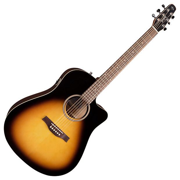 seagull 040308 s6 cw spruce sunburst gt acoustic electric reverb. Black Bedroom Furniture Sets. Home Design Ideas