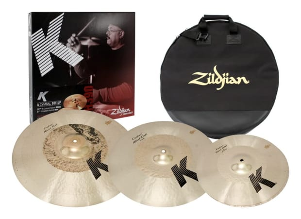 zildjian k kch390 custom hybrid cymbal pack box set reverb. Black Bedroom Furniture Sets. Home Design Ideas