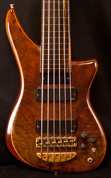 alembic 6 string fretless epic bass guitar used reverb. Black Bedroom Furniture Sets. Home Design Ideas