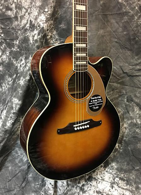 new fender kingman sce jumbo acoustic electric guitar 2016 3 reverb. Black Bedroom Furniture Sets. Home Design Ideas