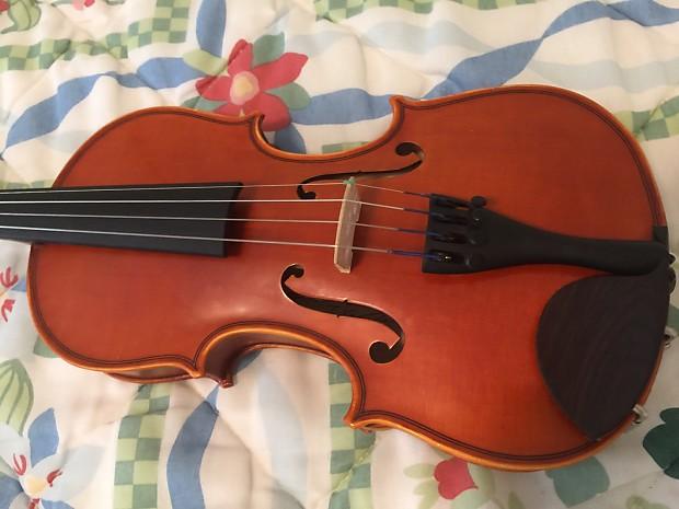 Yamaha model v 5 1 4 size violin w case bow reverb for Violin yamaha 4 4