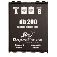 Rapco DB 200 Passive Stereo Direct Box image