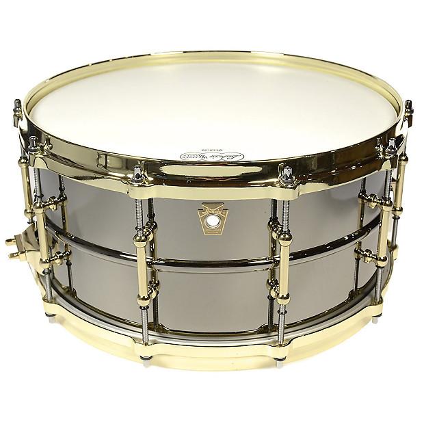 Ludwig 6.5x14 Black Beauty Snare Drum W/Brass Hardware ...