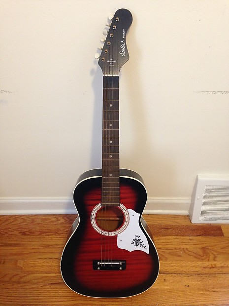 1971 stella harmony h934 acoustic guitar with case reverb. Black Bedroom Furniture Sets. Home Design Ideas