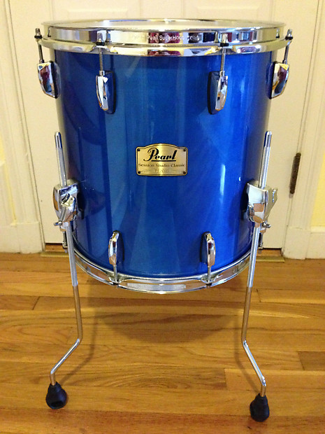 Pearl session ssc 2013 sheer blue 10x8 tom and 14x14 floor for 14x14 floor tom