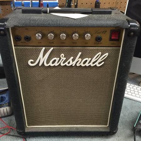 marshall lead 12 guitar amp combo reverb. Black Bedroom Furniture Sets. Home Design Ideas