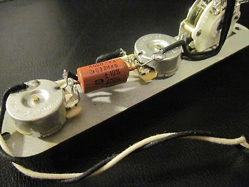 pre wired pio 4 way wiring harness for tele upgrade reverb