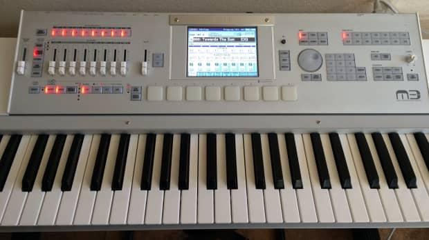 korg m3 music workstation synth 61 keys reverb. Black Bedroom Furniture Sets. Home Design Ideas