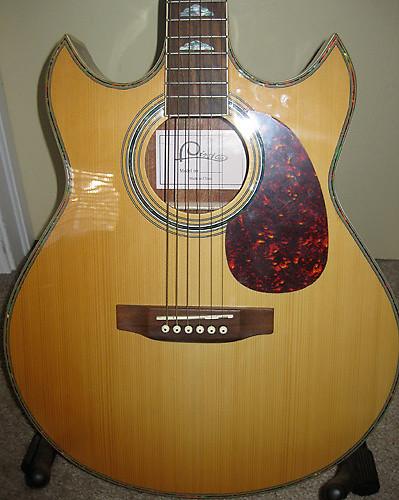 Double Cutaway Thinline Acoustic Guitar Unique Sg Style
