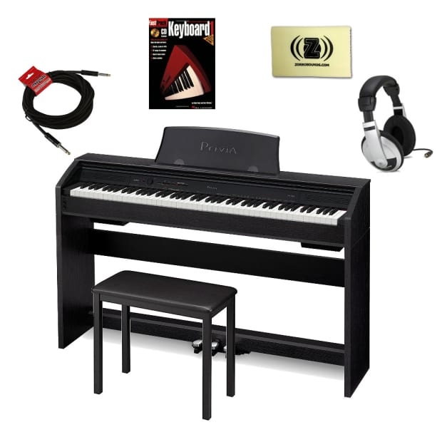 how to connect headphones to casio keyboard