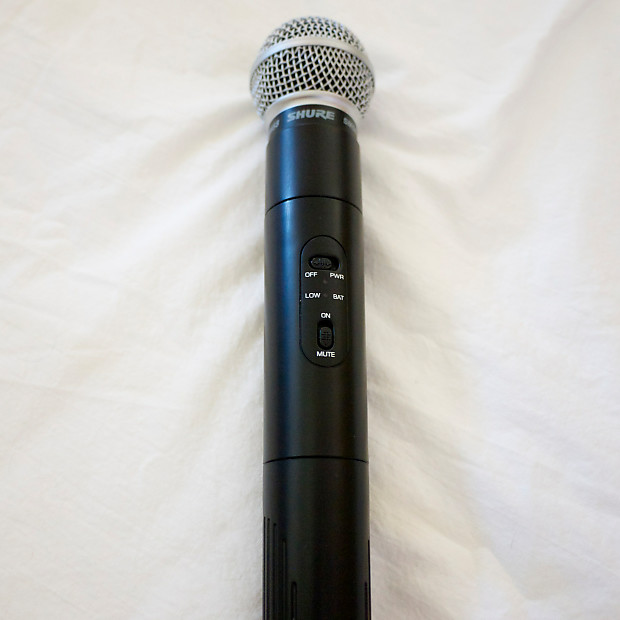 shure ut2 sm58 wireless microphone mhz ships free reverb. Black Bedroom Furniture Sets. Home Design Ideas