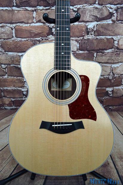 2016 taylor 214ce dlx grand auditorium acoustic electric guitar 6544 reverb. Black Bedroom Furniture Sets. Home Design Ideas