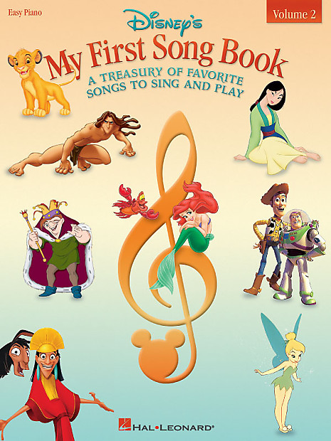 disney 39 s my first songbook volume 2 a treasury of favorite reverb. Black Bedroom Furniture Sets. Home Design Ideas