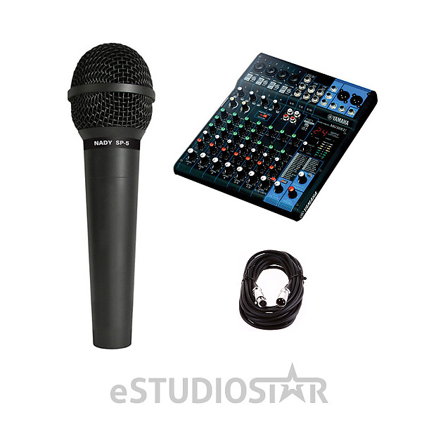 yamaha mg10xu 10 input stereo mixer usb w microphone and