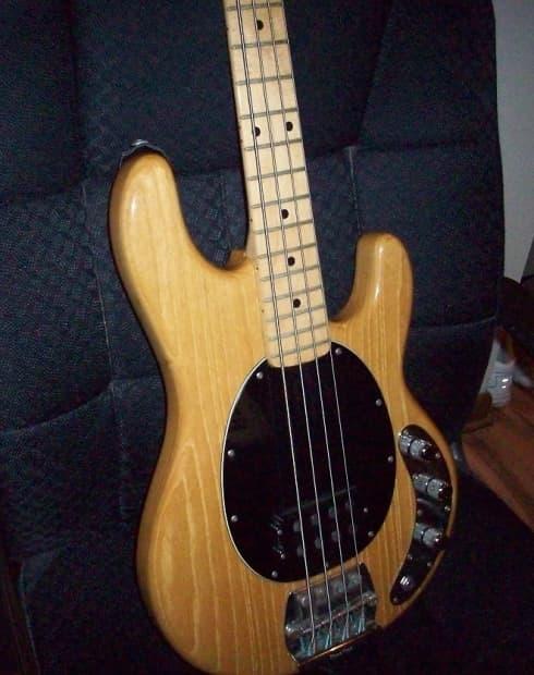 musicman stingray 4 bass circa 1983 natural reverb. Black Bedroom Furniture Sets. Home Design Ideas