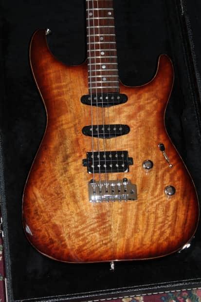 Lipe Virtuoso Electric Guitar Mango top Mahogany Body Coco ...