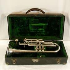 Conn Stencil New York Musical Instrument Co. Cornet, Fully Restored image