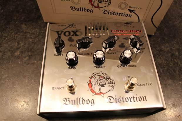 vox bulldog distortion pedal chrome reverb. Black Bedroom Furniture Sets. Home Design Ideas