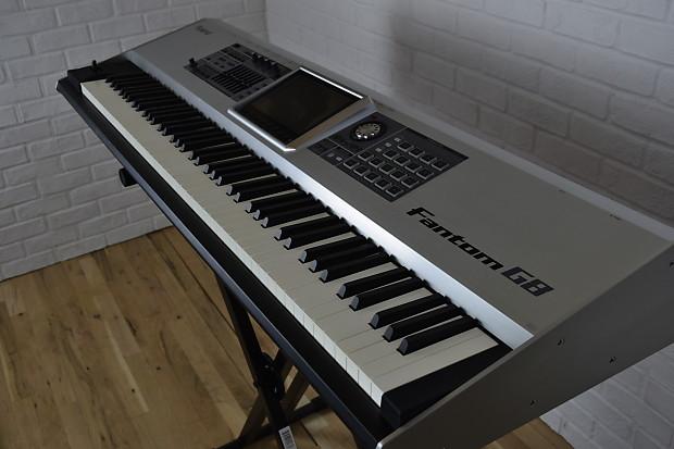roland fantom g8 keyboard synthesizer near mint used 88 key reverb