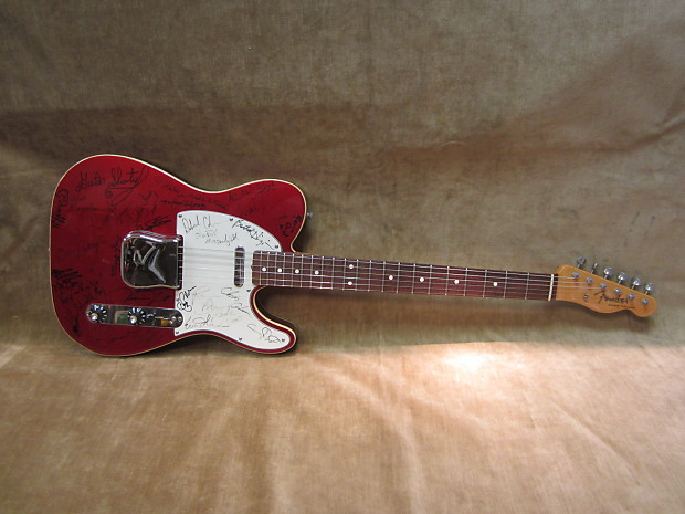 2000 Fender Muddy Waters Tribute Concert Telecaster Custom ...