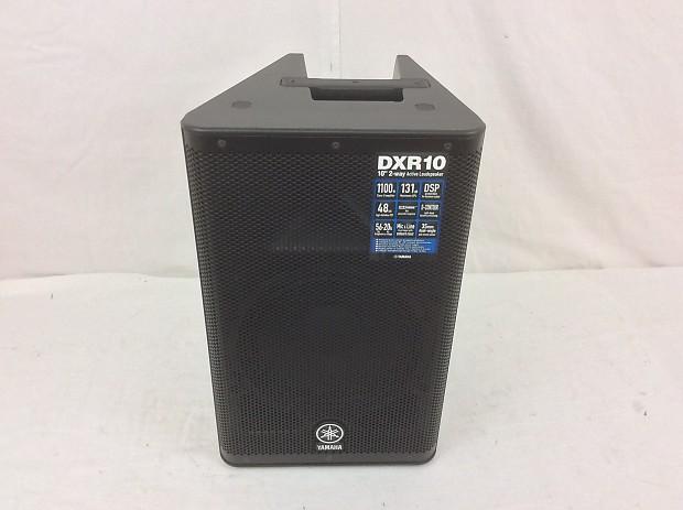 Yamaha dxr10 2 way monitor speaker reverb for Yamaha dxr10 speakers