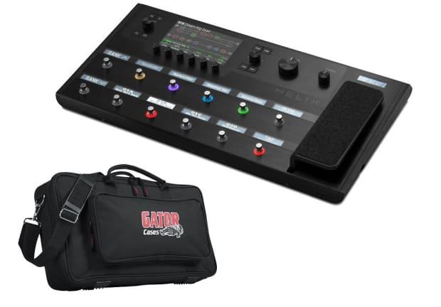 line 6 helix guitar multi effects pedalboard gig bag reverb. Black Bedroom Furniture Sets. Home Design Ideas