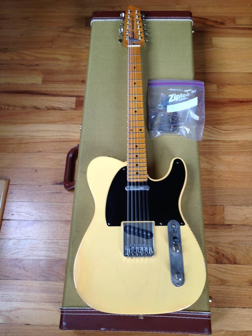 fender rhomco telecaster xii 12 string guitar custom free reverb. Black Bedroom Furniture Sets. Home Design Ideas