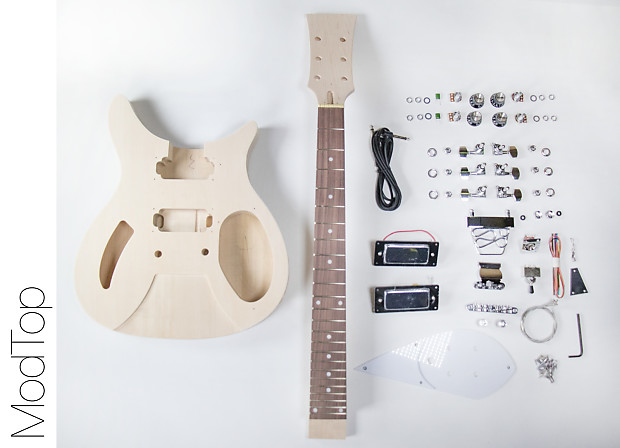 do it yourself diy electric guitar kit r style build your reverb. Black Bedroom Furniture Sets. Home Design Ideas