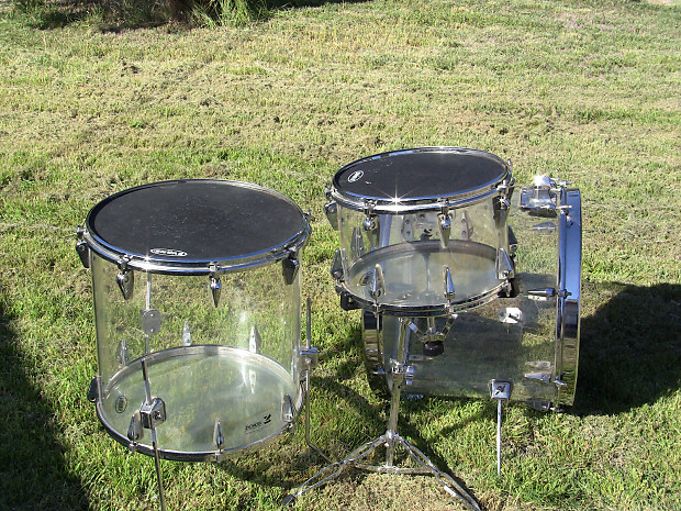 zickos acrylic clear drum set 1970 39 s acrylic reverb. Black Bedroom Furniture Sets. Home Design Ideas