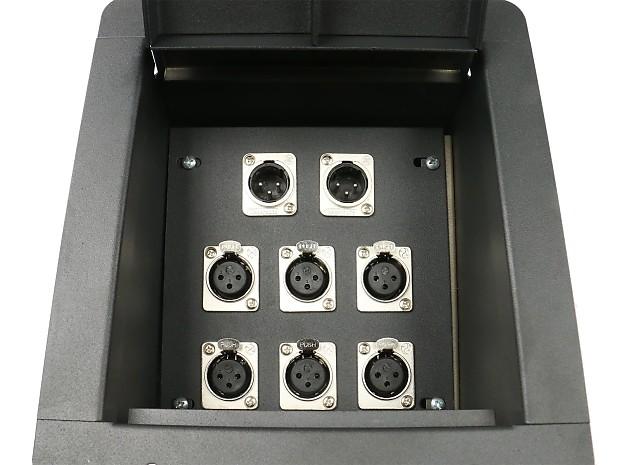 Elite Core Recessed Stage Audio Metal Floor Pocket Box W