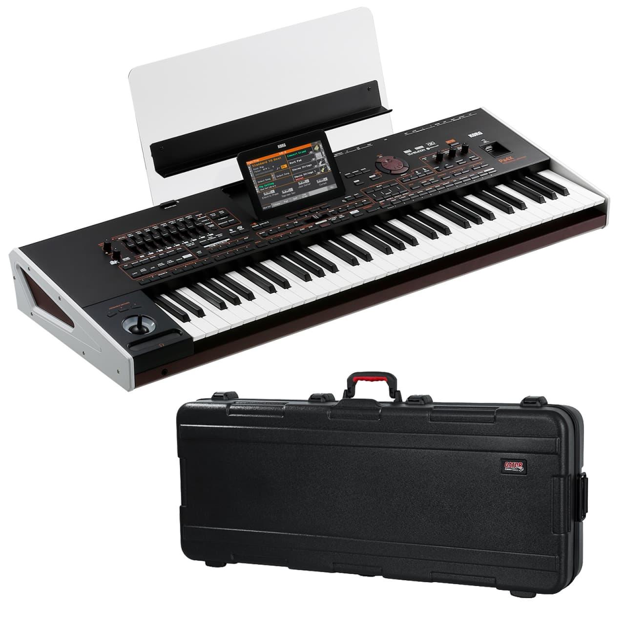 korg pa4x 61 arranger workstation keyboard performer pak reverb. Black Bedroom Furniture Sets. Home Design Ideas