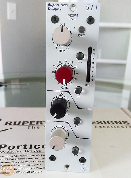 Rupert Neve 511 : rupert neve designs portico 511 500 series mic pre with silk reverb ~ Vivirlamusica.com Haus und Dekorationen